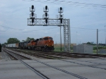 BNSF 7642 & 7146, HLCX 6227 & CSX 7492